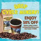 Maui Wowi Premium Coffee 50 Percent Off On Cyber Monday