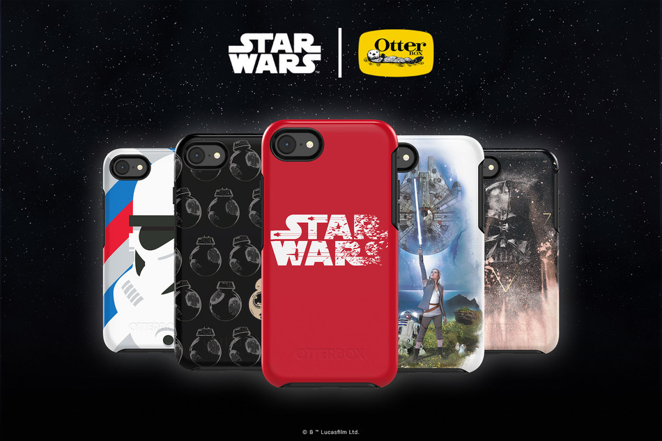 From Star Wars: A New Hope to Star Wars: The Last Jedi, OtterBox has a protective iPhone Symmetry Series case for every Star Wars fan.