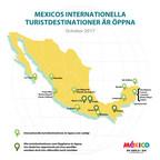 Mexikos turistmål är öppna och redo att välkomna dig