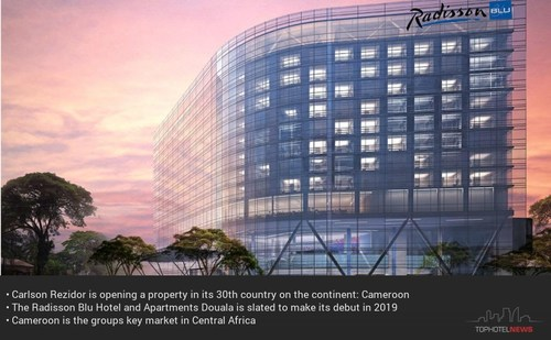 Carlson Rezidor Continues Expanding in Africa - Radisson Cameroon (PRNewsfoto/Tophotel Projects)