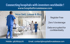 hospital for sale lease (PRNewsfoto/Hospitalforsalelease.com)