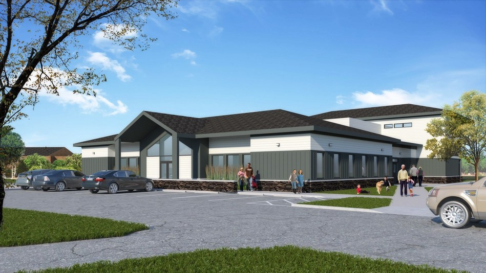 A rendering of the new PTP building which is set for construction in spring 2018 at Hull Services main campus. (CNW Group/Hull Services)