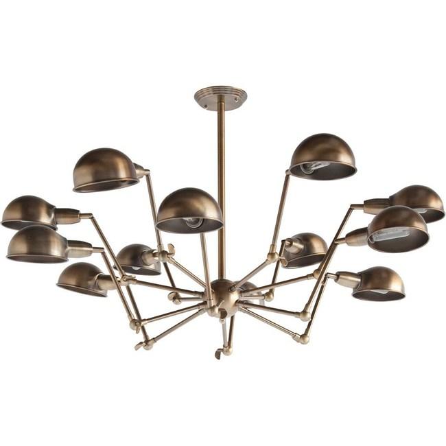 Ursula Brass Spider Lamp