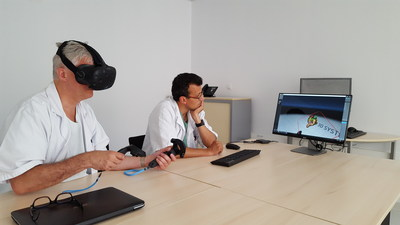 D2P Volume Virtual Reality Software Allows Instant Visualization of Patient Images