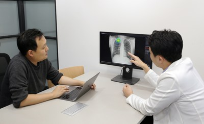 Anthony S. Paek, CEO of Lunit, and Minsung Kim Medical Director of Lunit, discusses Lunit INSIGHT diagnosis.