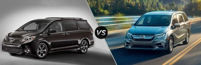 The 2018 Toyota Sienna is currently available at Palatine, Illinois-area automotive dealership Arlington Toyota.