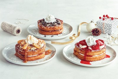 New Cheesecake Stuffed French Toast is available at participating IHOP restaurants nationwide for a limited time.