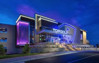 A Topgolf venue in Colorado (PRNewsFoto/Topgolf)