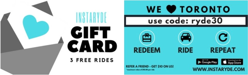 Toronto-born rideshare InstaRyde set to launch December 1st. (CNW Group/InstaRyde)