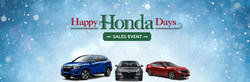 Happy Honda Days sales event at Bob Rohrman Honda