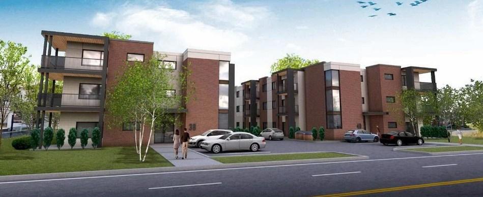 Gestion Beau Toit et le Fonds immobilier de solidarité FTQ ont inauguré la deuxième phase du projet multirésidentiel Faubourg Saint-Constant (Groupe CNW/Gestion Beau Toit)