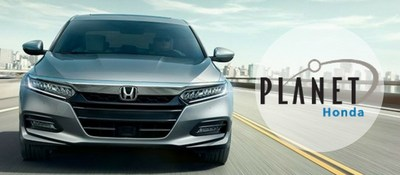 Schedule a test drive of the 2018 Honda Accord at Planet Honda of Golden, Colorado.