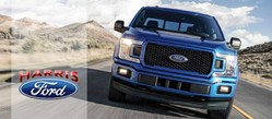 Harris Ford website features a new blog and detailed Ford model research pages for prospective customers.