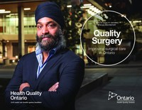 Quality Surgery: Improving Surgical Care in Ontario (CNW Group/Health Quality Ontario)