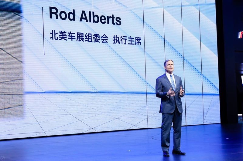 Rod Alberts, executive director of the North America International Auto Show (NAIAS)