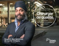 Chirurgie de qualité : Améliorer les soins chirurgicaux en Ontario (Groupe CNW/Qualité des services de santé Ontario)