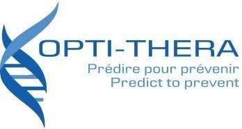 Logo: OPTI-THERA Inc. (CNW Group/Servier Canada Inc.)