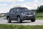 Volkswagen Amarok: newly crowned 'International Pick-up 2018'. Following its win in 2010 now the only pick-up to take the award twice. (PRNewsfoto/Volkswagen Commercial Vehicles)