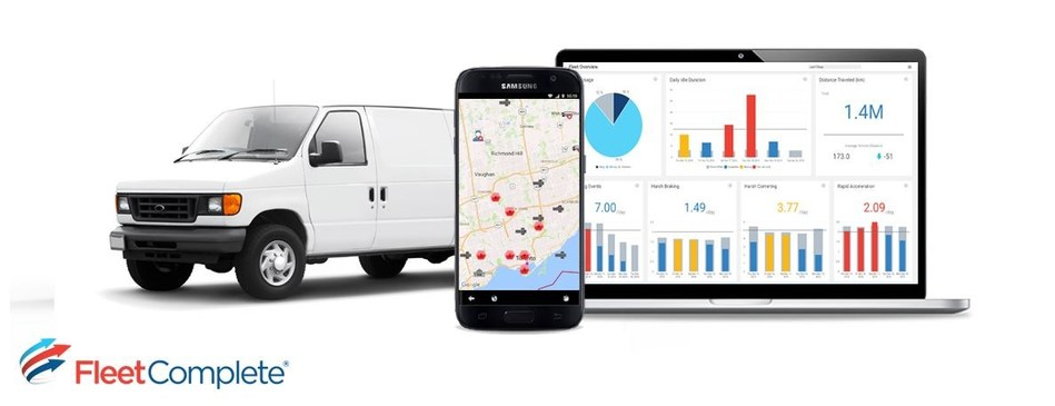 Award-winning Fleet Complete announces more than 50% year-over-year revenue growth globally (CNW Group/Fleet Complete)