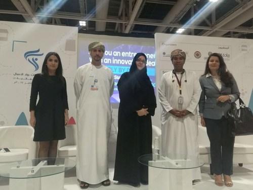 Arab Startup Competition Press Conference Oman (PRNewsfoto/MITEF Pan Arab)