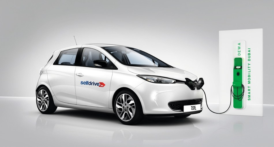 UAE's 1st Online Self Drive Rent A Car Company to Host All Electric Cars (PRNewsfoto/Self Drive)