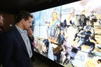 Anthony Scaramucci visits the Friends of Zion Museum