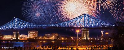 Le Grand Décompte (CNW Group/Société des célébrations du 375e anniversaire de Montréal)