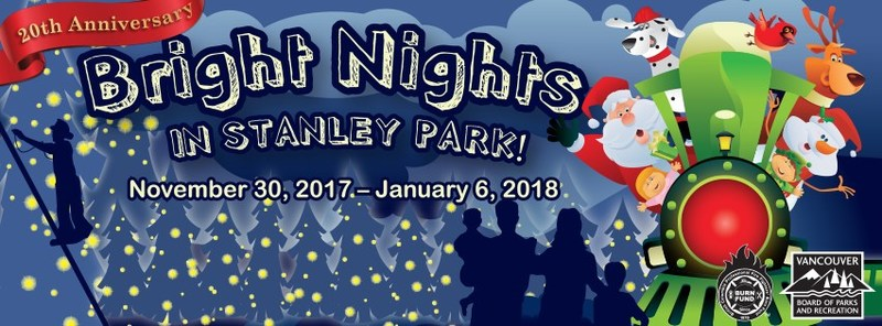 20th Anniversary of Bright Nights in Stanley Park (CNW Group/British Columbia Professional Fire Fighters Burn Fund)