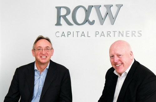Raw Capital directors Richard Avery-Wright (l) Tim Parkes (r) (PRNewsfoto/RAW Capital Partners)