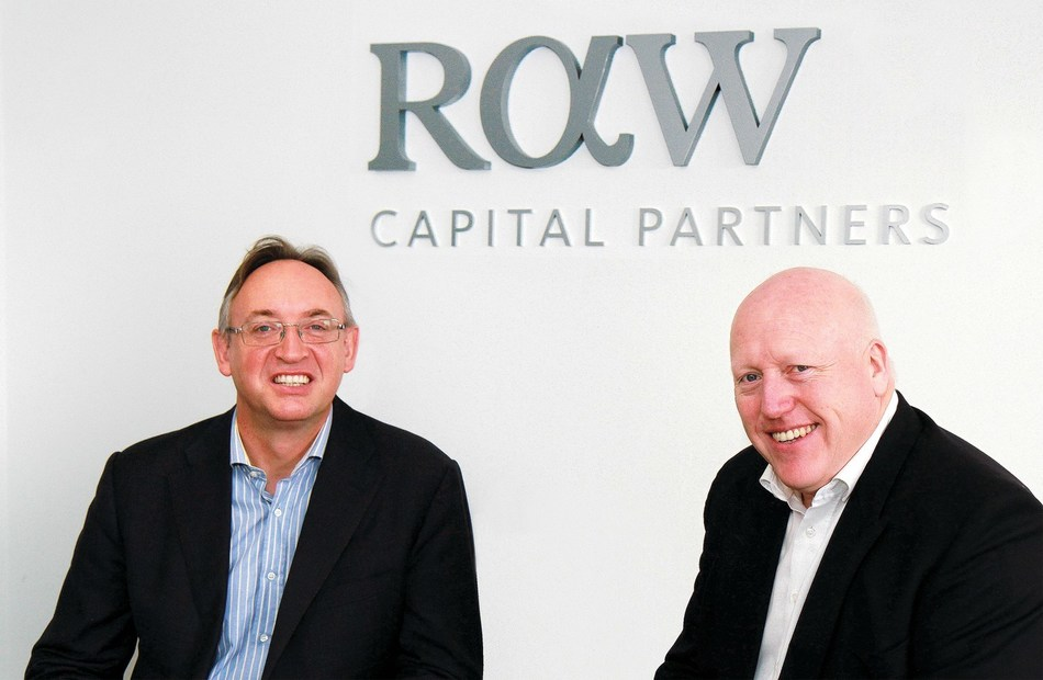 Raw Capital directors Richard Avery-Wright (l) Tim Parkes (r) (PRNewsfoto/RAW Capital Partners)