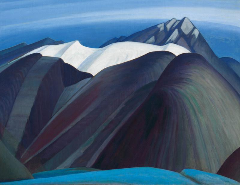 La légendaire toile de Lawren Harris, Mountains East of Maligne Lake, a trouvé preneur pour plus de 3 millions de dollars dans le cadre de la vente automnale de la Maison Heffel (Groupe CNW/Maison de ventes aux enchères Heffel)