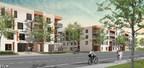 Perspective de la phase 1 du projet de revitalisation des immeubles Val-Martin (Groupe CNW/Ville de Laval)