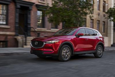 2018 Mazda CX-5 (Groupe CNW/Mazda Canada Inc.)