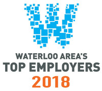 Waterloo Area's Top Employers 2018 (CNW Group/Mediacorp Canada Inc.)