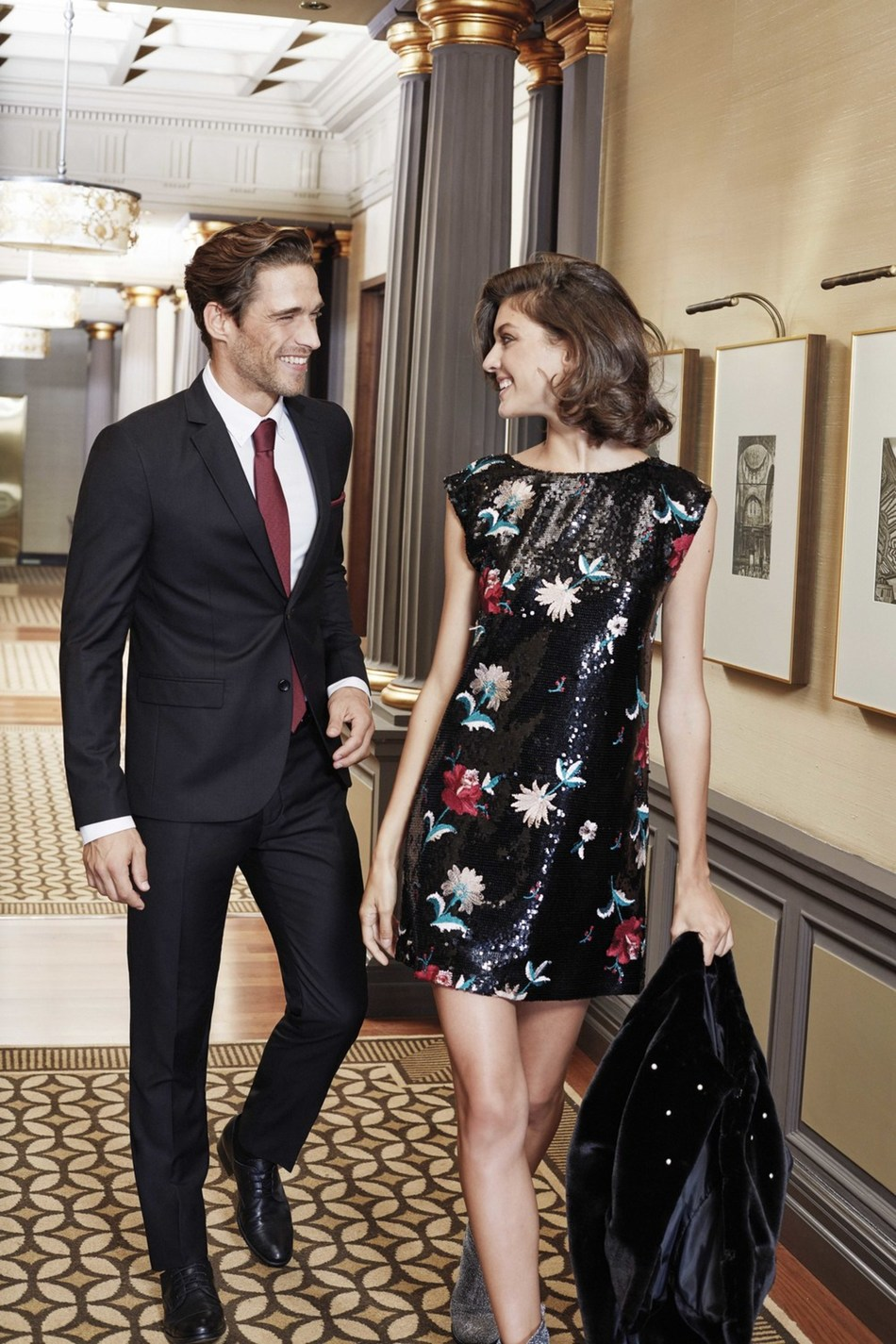 LC Waikiki New Year Collection for Men will include suits designed with a tailored fit and high quality  fabrics. Black and white will be the base of this collection; suiting well with the women's collection. (PRNewsfoto/LC Waikiki)