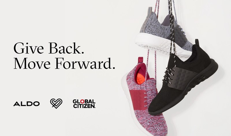 Aldo and Global Citizen take a stand for global education (CNW Group/ALDO Group)