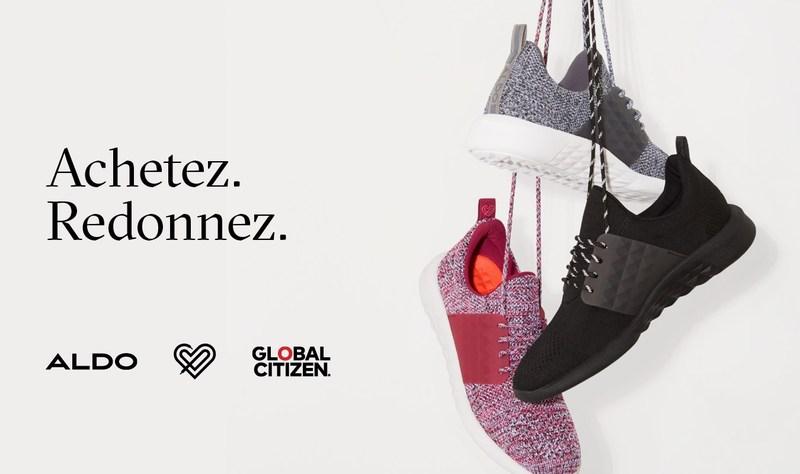 Aldo et Global Citizen : changer le monde grâce à la mode (Groupe CNW/Groupe ALDO)