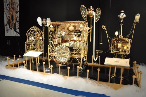 Ontario Science Centre has festive season celebrations down to a science with its world famous collection of Magical Machines by Rowland Emett, on display from December 16, 2017 to January 14, 2018. (CNW Group/Ontario Science Centre)