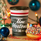 Tim Hortons annual #WarmWishes campaign returns, encouraging everyday acts of kindness in support of the Tim Horton Children's Foundation. Today, select schools across the country came together to create larger-than-life snowflakes in celebration of this year's launch. (CNW Group/Tim Hortons)
