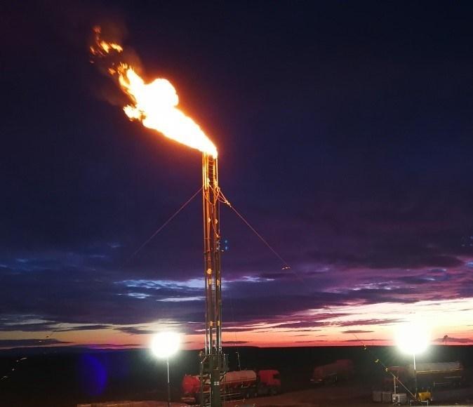 Production test #1 Yamalik-1 well (CNW Group/Valeura Energy Inc.)
