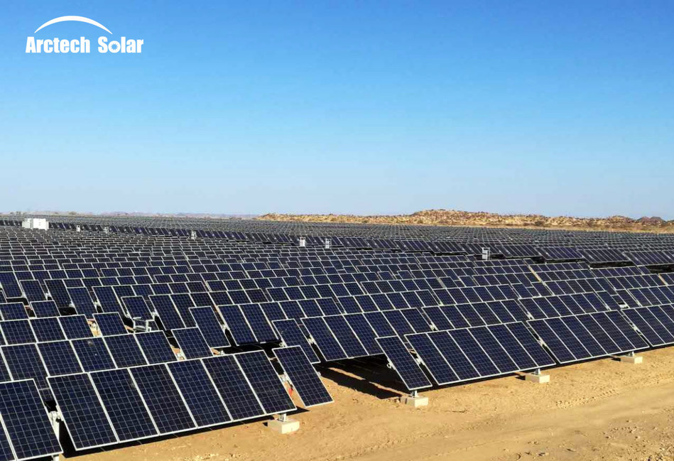 The First Application of Arctracker Pro in Africa (Arctech Solar)