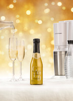 SodaStream Launches 'Sparkling Gold' Groundbreaking Beverage Innovation