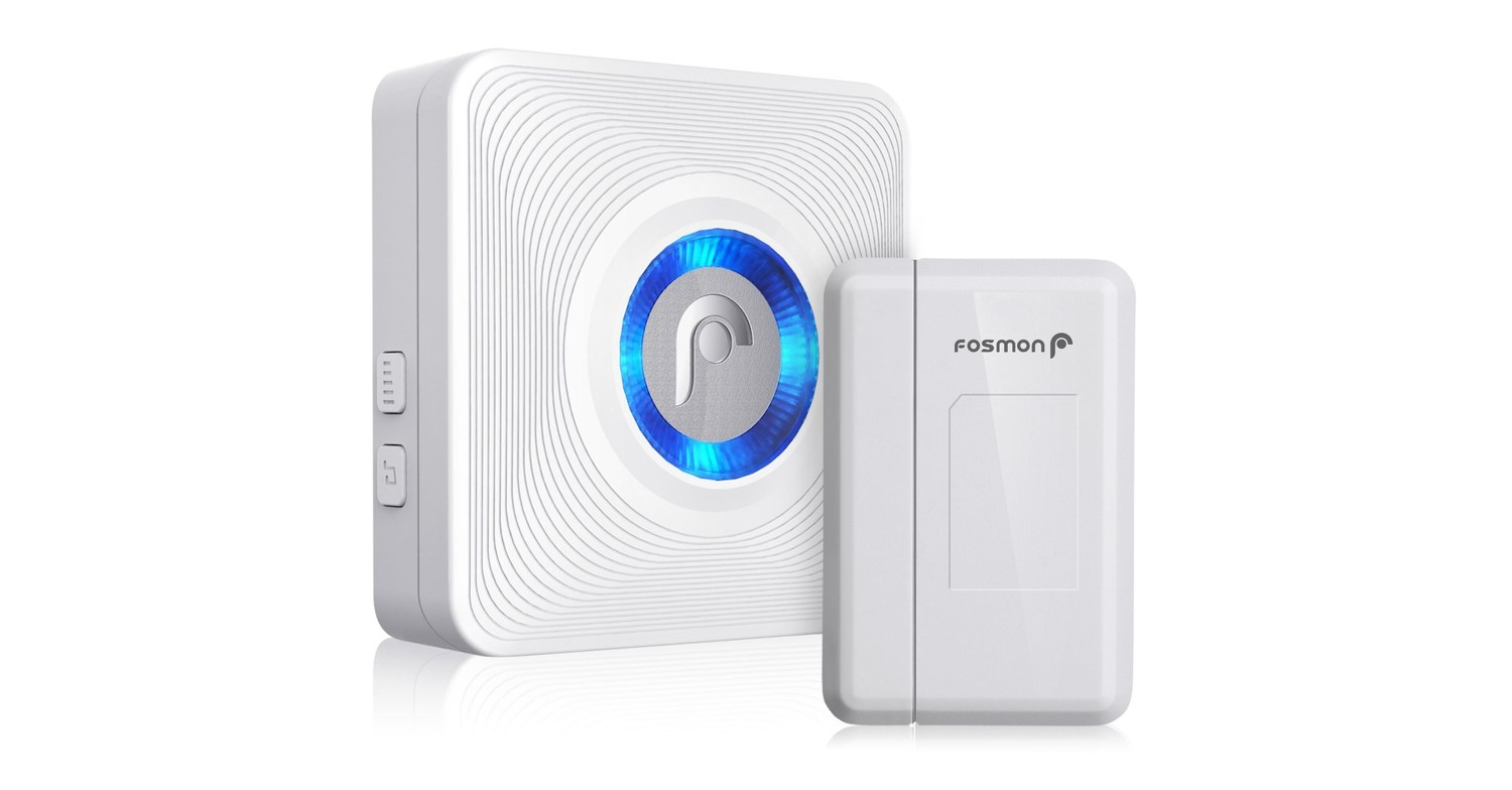 Fosmon WaveLink Wireless Doorbell and Chime System ...