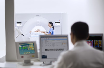 The IQon Elite Spectral CT's new radiation therapy planning couch and bariatric table top enable patients to be scanned with increased positioning controls, leading to greater clinical breadth.