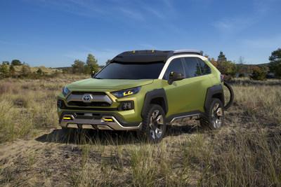 El Concepto de Aventura Toyota Futuro (FT-AC) lleva la diversión en exteriores a una nueva dimensión en la edición 2017 de la Feria Automovilística de Los Ángeles