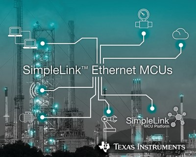Simplify industrial gateway designs using new TI SimpleLink Ethernet MCUs with an integrated PHY
