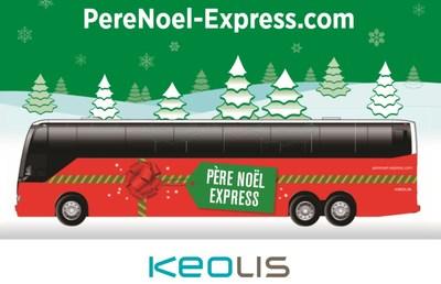 Tournée du « Père Noël Express » : Keolis Canada invite la population à contribuer généreusement en offrant une première ou une seconde vie à des jouets pour le plus grand bonheur des enfants soutenus par des organismes caritatifs régionaux. (Groupe CNW/Keolis Canada)