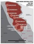 Gamma Corridor Longitudinal Section Shaft Zone (CNW Group/Barkerville Gold Mines Ltd.)