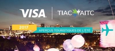 AITC et Visa Canada 2017 Aperçus touristiques de l'été (Groupe CNW/Association de l'industrie touristique du Canada)