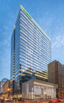 Manuvie inaugure son nouveau siège social au Québec (Groupe CNW/Société Financière Manuvie)